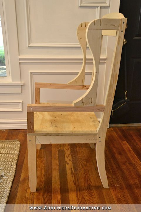 dining chair how to build a frame for an upholstered chair 24