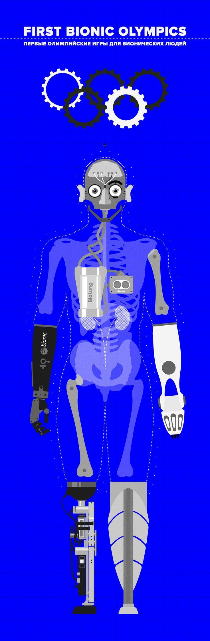 bionic | future | robots | human | sci-fi | sport | olympics | look at me