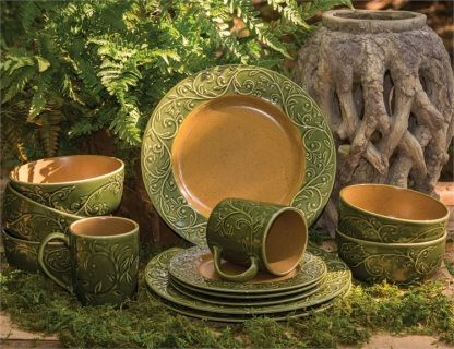 The New Verona Dinnerware Collection by Park Designs - Made of durable stoneware microwave and & 10 best Dinnerware Collections - Dish Sets images on Pinterest ...