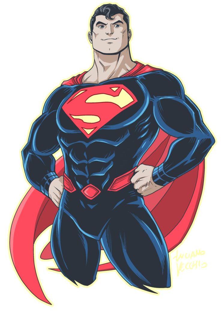 Superman Rebirth by LucianoVecchio.deviantart.com on @DeviantArt