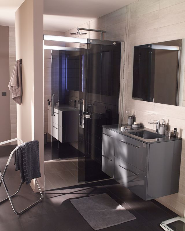 Meubles cookelewis meltem castorama bathroom - Meubles salle de bain castorama ...
