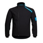 Team Sky Softshell Jacket  The original Rapha jacket now updated for the world's finest pro team. This award-winning, high-performance cycling jacket is designed for tough winter road riding. Windproof, water resistant and highly breathable. As worn by the riders of the world's leading cycling team.