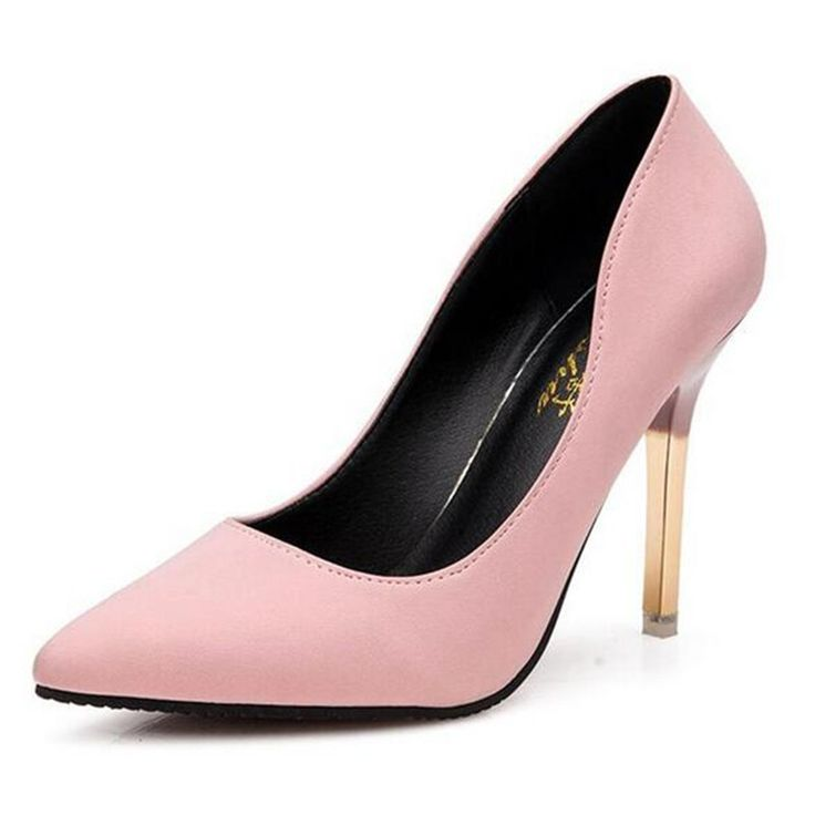 2016 summer elegant ol single shoes shallow mouth pointed toe high-heeled shoes thin heels sexy pink women's high-heeled shoes #>=#>=#>=#>=#> Click on the pin to check out discount price, color, size, shipping, etc. Save and like it!
