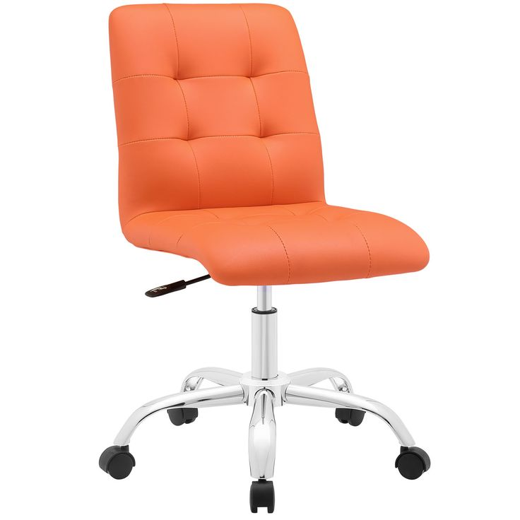 Prim Mid Back Office Chair in Orange