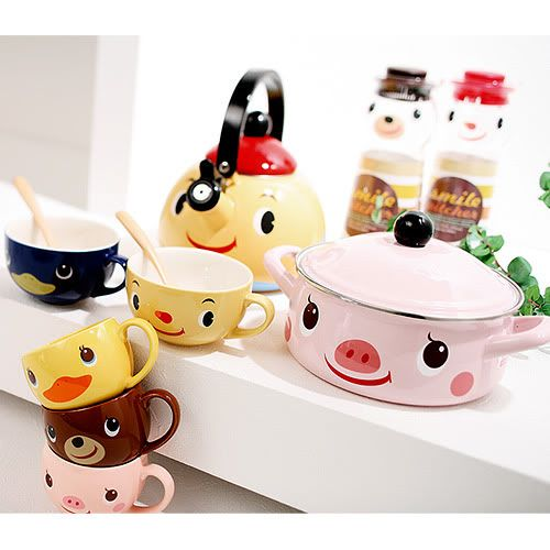The most cutest Kitchenware :) for the kitchen