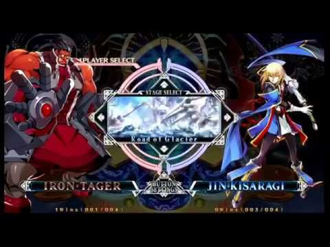 NEC 17 Blazblue Central Fiction Pools and Top 16 Part 2