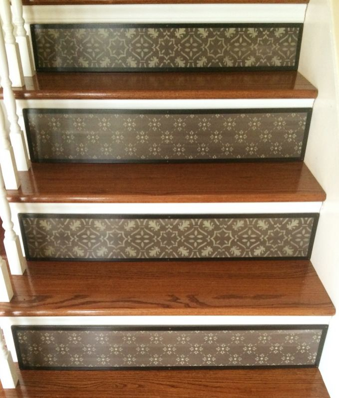58 Cool Ideas For Decorating Stair Risers: 27 Best Painted Stairs / Painted Staircases Images On