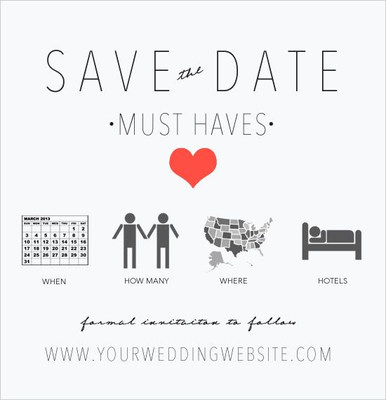 Best 18 save the date and invitation images on Pinterest | Other