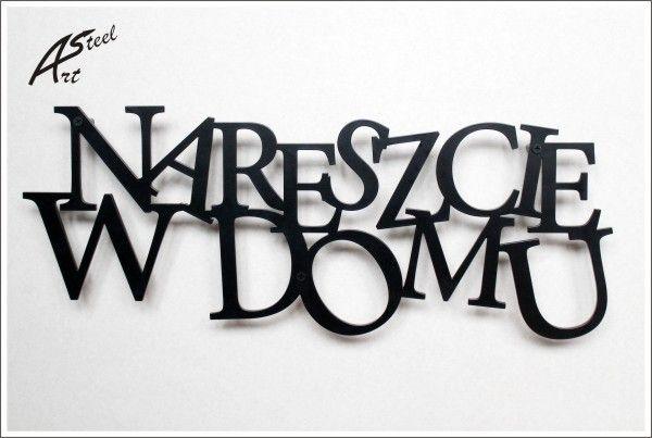 Dekoracja / Wieszak na ubrania, klucze, dodatki w Art-Steel na DaWanda.com #niezchinzpasji