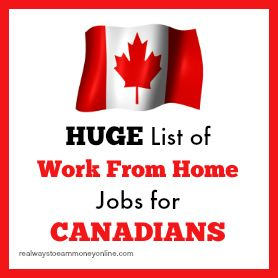 Work At Home Jobs For Canadians