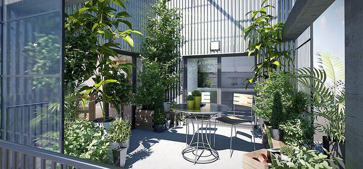 Investissez à Nantes, dans une résidence urbaine et contemporaine éligible #loiduflot