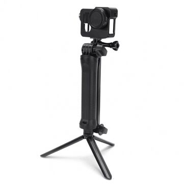 Adjustable 3 Way Multi-Function Non Soft Silica Gel Grip Arm Monopod Tripod Mount For GoPro 2 3 4 3 Plus