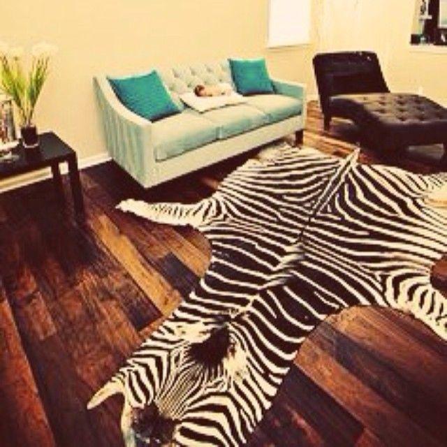 17 Best Ideas About Zebra Skin Rug On Pinterest