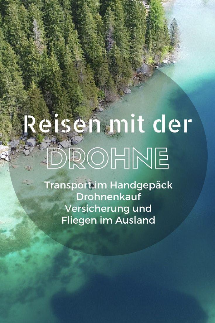Reisen mit Drohne – Tipps Drohnenkauf, Transport, Versicherung, gesetzliche Bestimmungen Drohnen werden bei Reisenden, Backpackern und Fotografen immer beliebter. Kein Wunder, denn mit einer Drohne kannst du atemberaubende Bilder und Videos aus der Vogelperspektive machen. Du kannst Wellen, Wüsten, Wälder und die entlegensten Gebiete dieser Welt ganz unkompliziert von oben aufnehmen. Wo geht das besser, als auf Reisen?Bevor du dir eine Drohne zulegst und damit in den Flieger steigst…