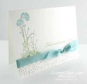 Stampin' Up! Loving Thoughts stamp set