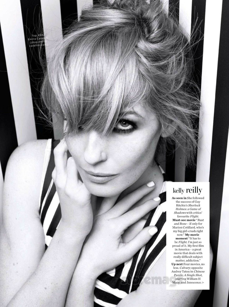 Kelly Reilly - InStyle by Rankin, March 2013                                                                                                                                                                                 More