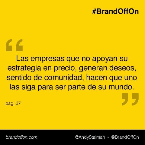 """.@BrandOffOn """"Nada más pequeño que la realidad para la imaginación""""  Marcas, dejen volar su imaginación #BrandOffOn"""
