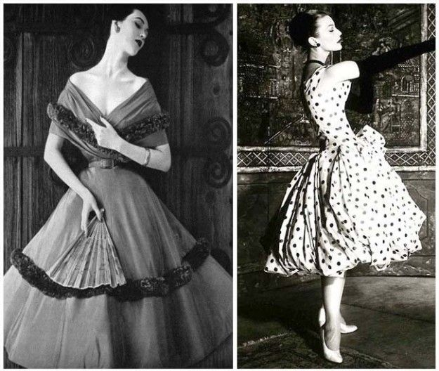Cartamodelli abiti anni '50