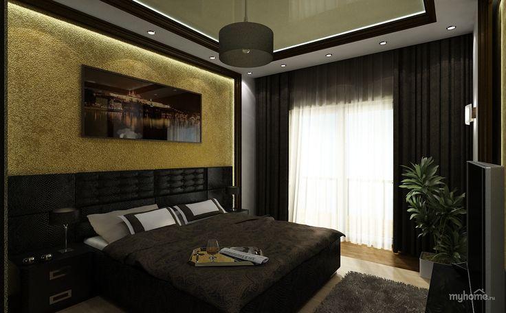 Спальня холостяка дизайн