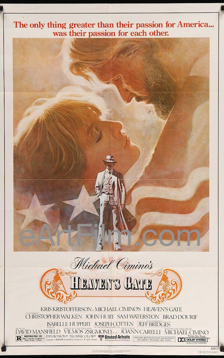 Happy Birthday #JosephCotten https://eartfilm.com/search?q=joseph+cotten #actors #Broadway #theater #CitizenKane #TheThirdMan #HeavensGate #MercuryTheatre #film    Heaven's Gate-Michael Cimino-Kris Kristofferson-Christopher Walken-1981-27x41