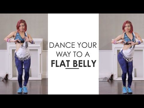 Zumba Inspired Belly Dance To Get A Flat Stomach | Fitness With Sucheta Pal - YouTube