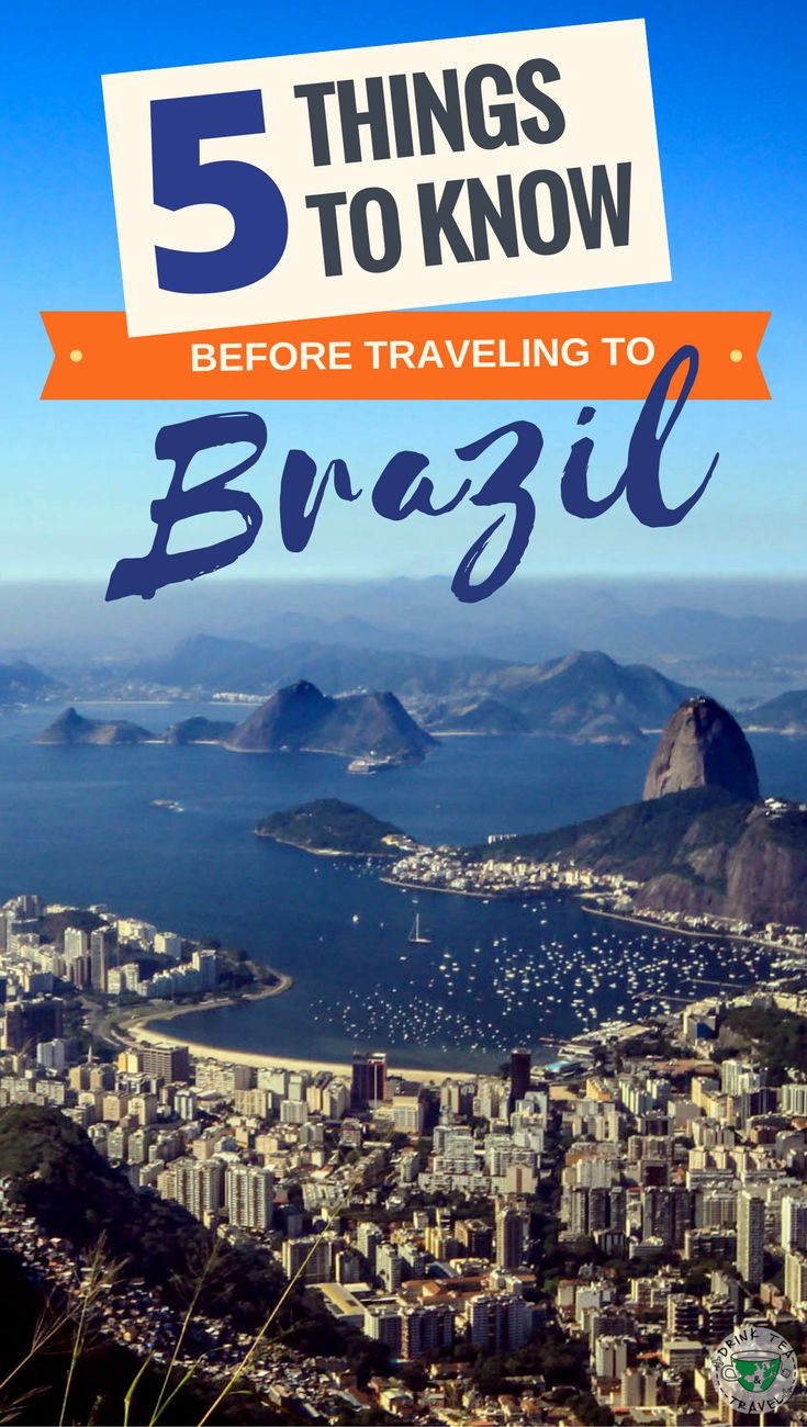 Planning a trip to Brazil? Here are 5 things you should know before traveling to Brazil including tips about the food, getting around and much more