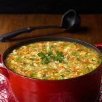 Turkey Pasta Soup - a super delicious soup and great way to use up leftover turkey or chicken.
