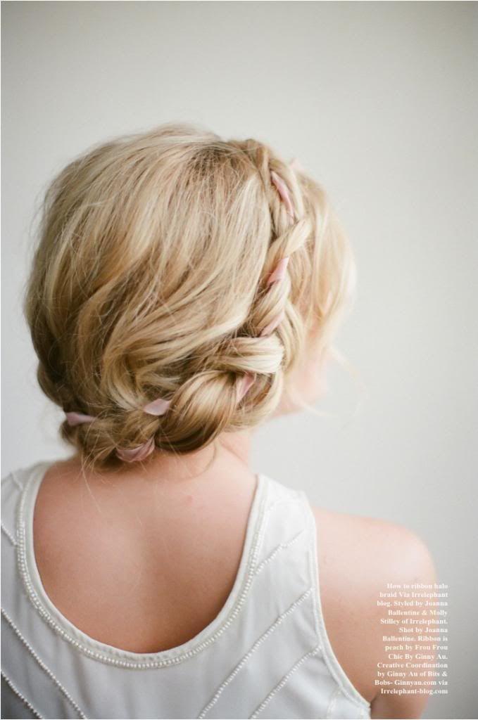halo braid. gorgeous.