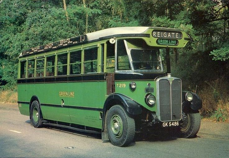 images of greenline buses | transpress nz: classic Green Line buses, greater London