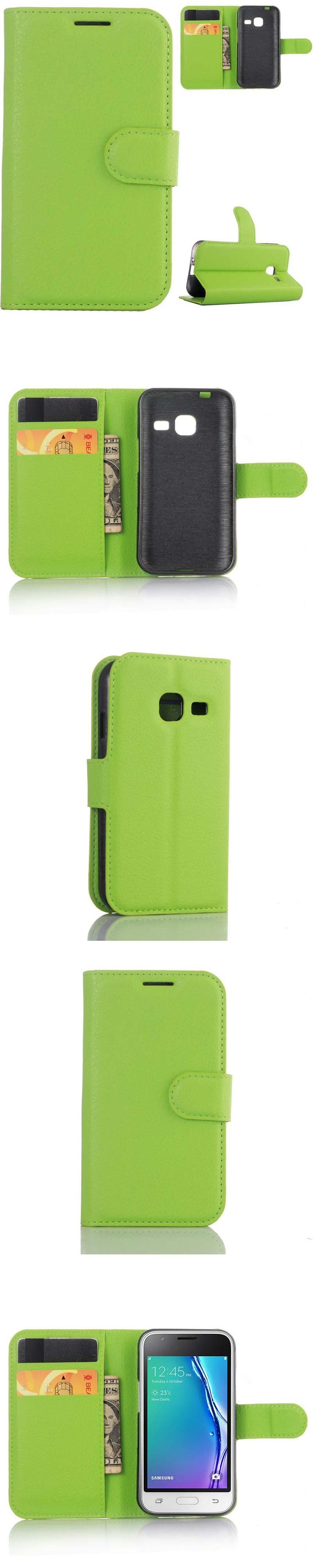 For Samsung J1mini Orignial YINGHUI Magnetic Wallet Leather Phone Case Protective Concise Style Cover Mobile Phone Holster Bag