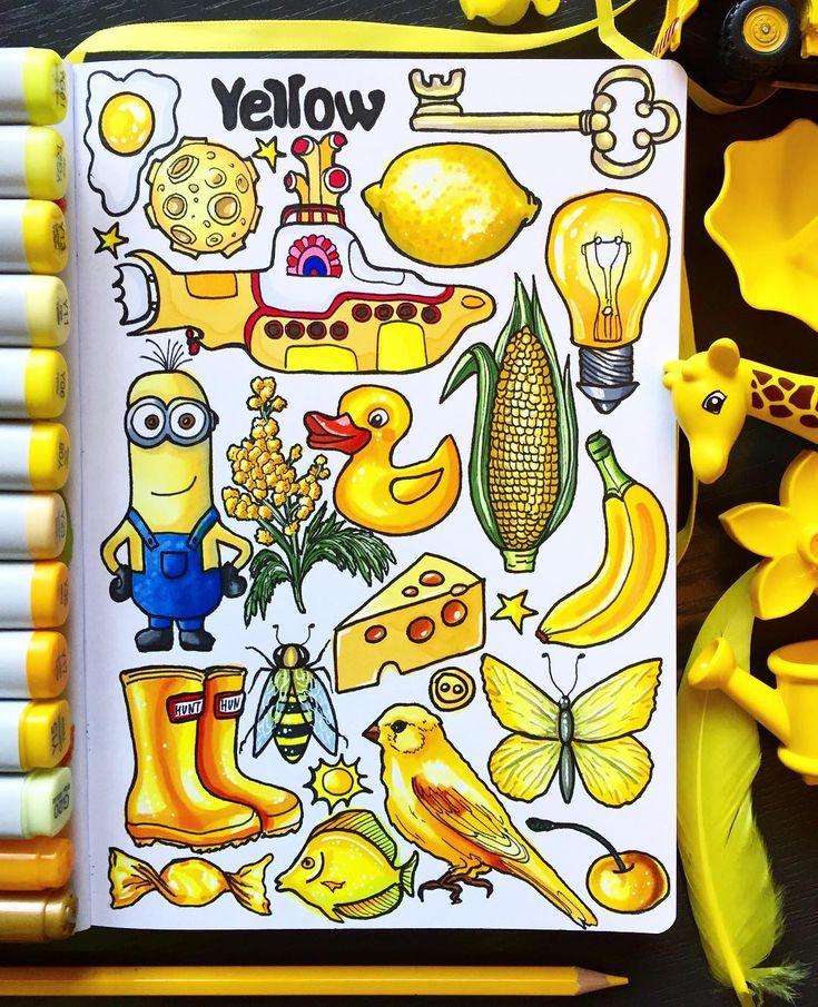 Картинки на тему желтая тема