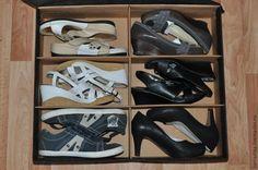Ну вот и до лета остались считанные дни! Пора доставать летние платья и босоножки, а ботинки и сапоги убирать в шкаф. Для многих встает вопрос: как хранить обувь? Все коробки разного размера, их неудобно складывать в шкаф. Для себя я нашла выход. Это короба для хранения обуви. Сделать их своими руками совсем не сложно. Нам понадобится: - гофрированный картон; - спанбонд (чем толще, тем лучше); - клей для картона; - горячий пистолет; - ножн…