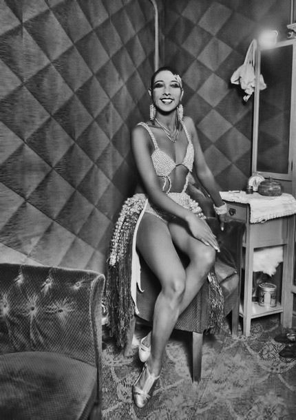 Josephine Baker at the Casino de Paris  Photo – Luis Ramon Marin  1930s