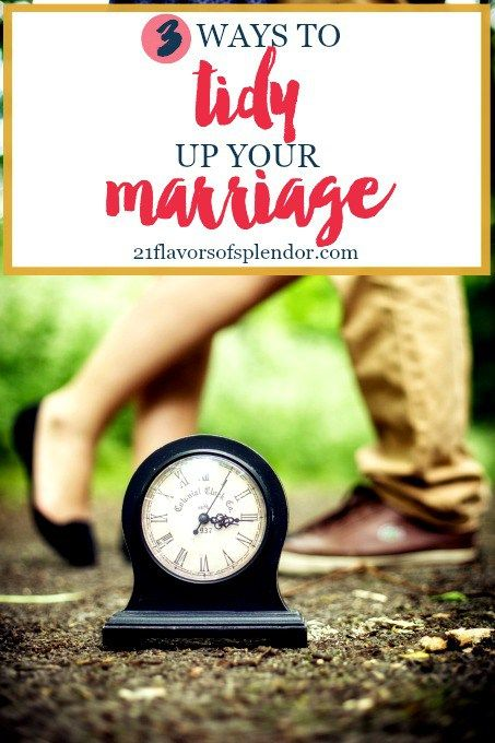 Just like during spring-cleaning our homes may need tidying, so may our marriages. Here are three keys to help you tidy up your marriage. Click...