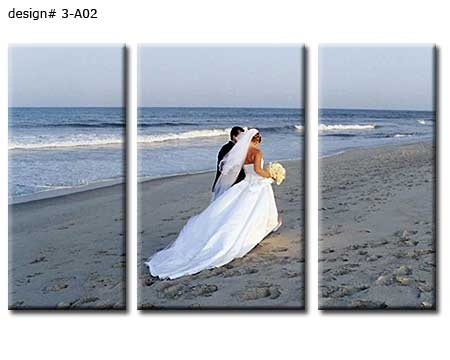 Learn how to make a wedding canvas