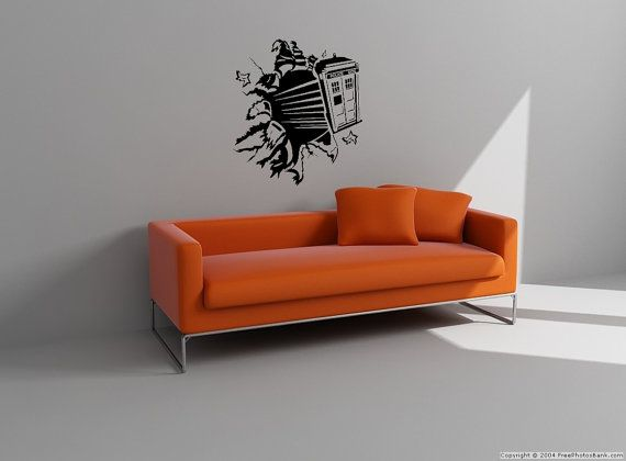 Nice Doctor Who Exploding Tardis Wall Decal By VinylTherapy On Etsy, $29.99 Are  You Ready For Part 25