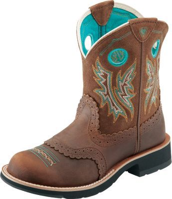 Ariat® Women's Fatbaby Cowgirl Boots. My camo ones are starting to look pretty rough. Love love love the fatbabys!