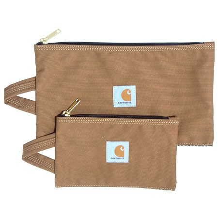 Carhartt Bags: Brown Legacy 100902 02 Water Repellent 2 Pack Tool Pouches #CarharttClothing #DickiesWorkwear #WolverineBoots #TimberlandProBoots #WolverineSteelToeBoots #SteelToeShoes #WorkBoots #CarharttJackets #WranglerJeans #CarhartBibOveralls #CarharttPants