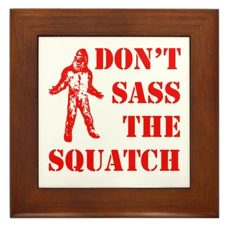 dont sass the squatch