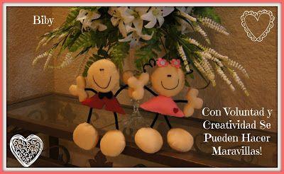 CON VOLUNTAD Y CREATIVIDAD SE PUEDEN HACER MARAVILLAS!: FULANITOS