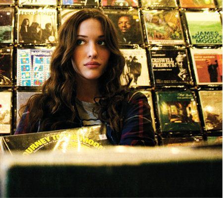 'I don't take crap from anyone, so that makes people think I'm rebellious. I'm not. I'm just not a pushover.' - Kat Dennings