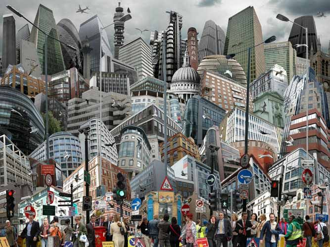 City-Life London 15 by Graham Holland