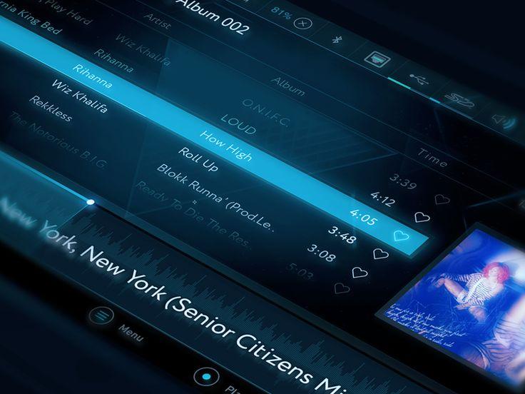 TV Media Player Concept