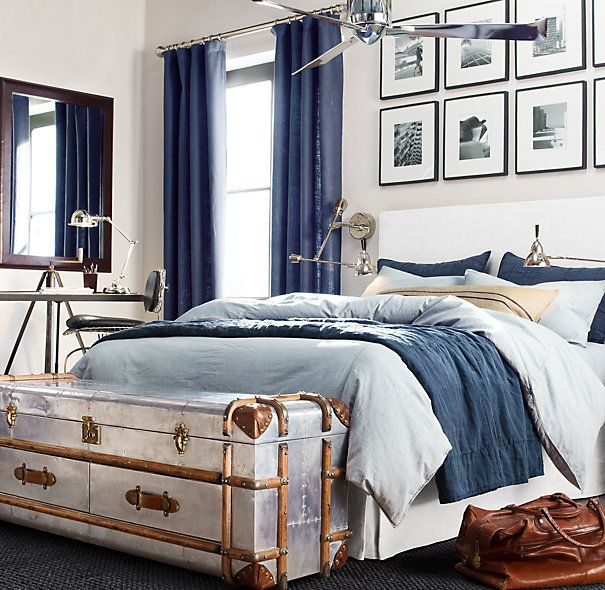 bedroom trunk. Richards  Metal Low Chest 14 best Steamer Trunks and Coffee Table Alternatives images on
