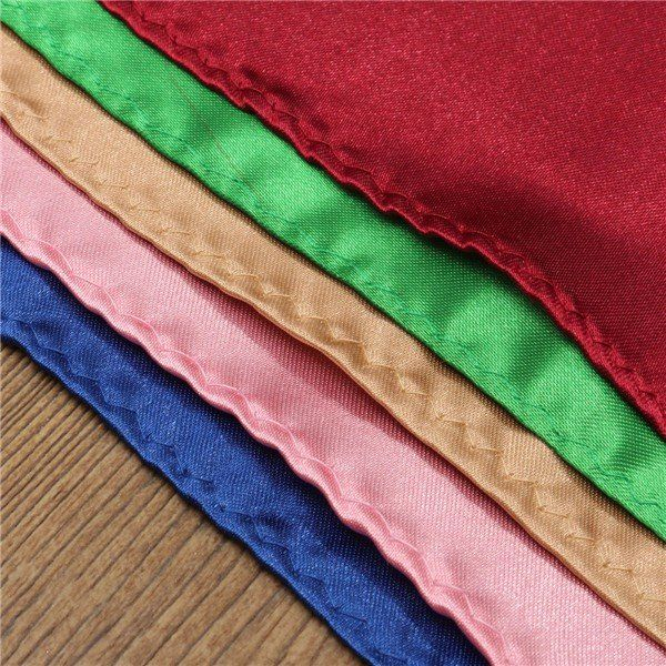 36x Mens Handkerchiefs Pocket Squares Solid Wedding Napkin Ties online - NewChic