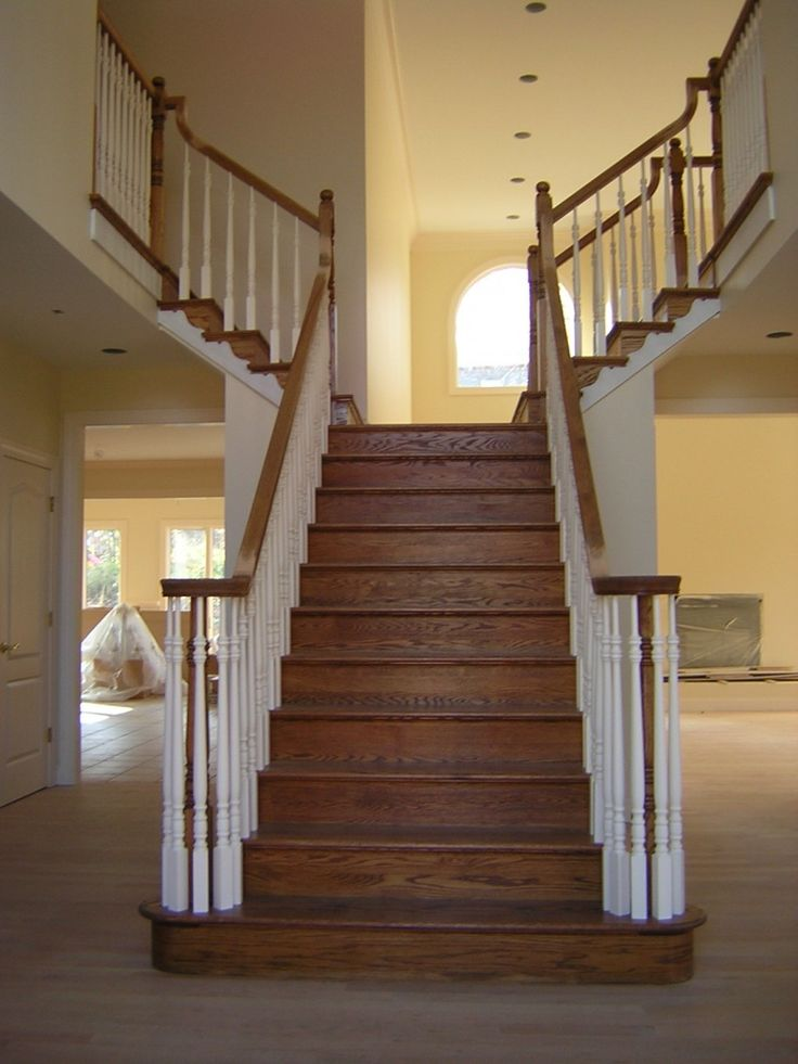 17 best ideas about painted stair railings on pinterest. Black Bedroom Furniture Sets. Home Design Ideas