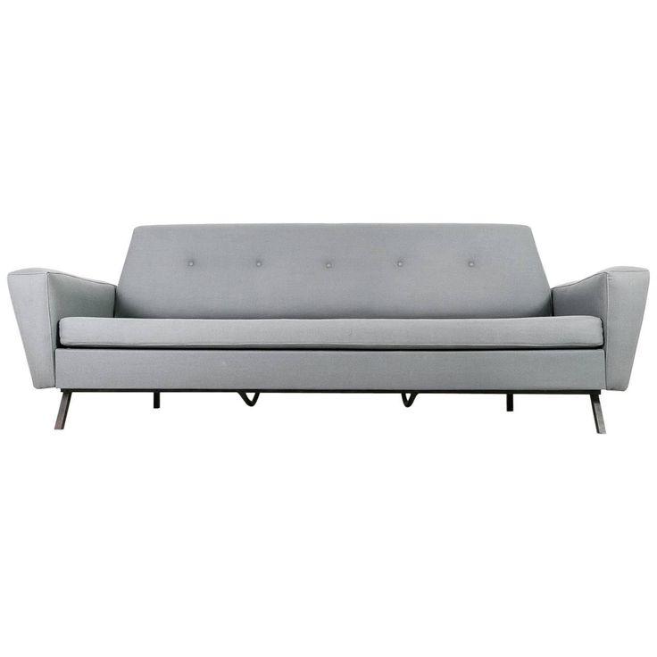 Mid-Century Italian Sofa Bed, 1950s