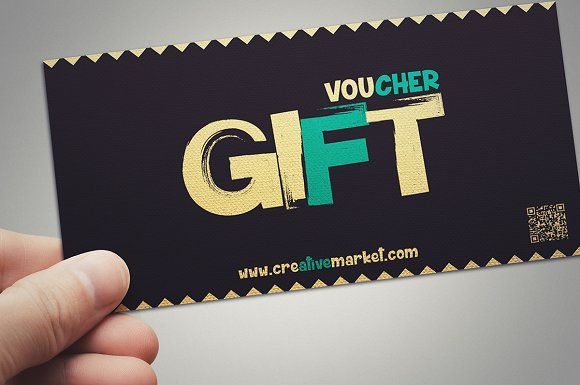 Retro style gift voucher - Cards