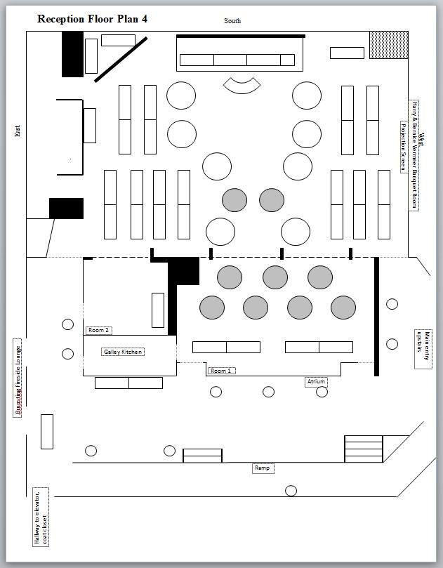 10 Best Images About Wedding Reception Floor Plans On