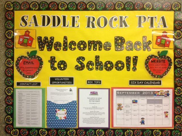 Welcome Back to School Bulletin Board